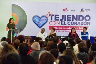 Municipio de Aguascalientes entrega apoyos a adultos mayores