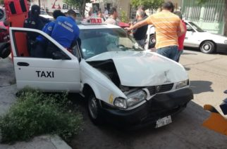 De 5 a 10 accidentes al mes están involucrados taxistas