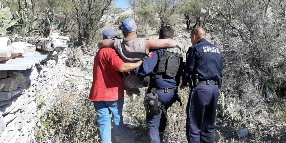 Se desgaja cerro en Tepezalá: mata a uno y hiere a otro