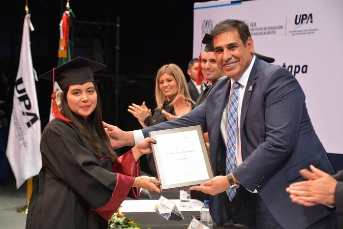 Se gradúan 501 profesionistas de la Universidad Politécnica de Aguascalientes