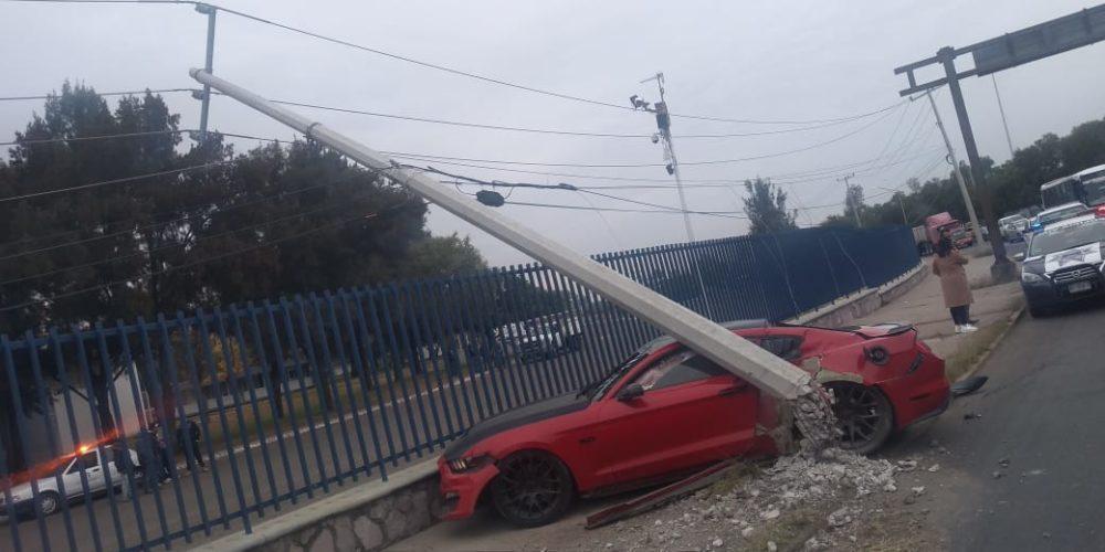 Mujer resulta lesionada tras impactar su vehículo en Aguascalientes