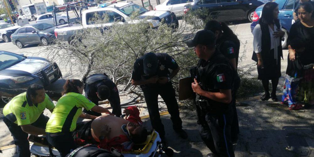 Camión de basura atropelló a quincuagenario en Aguascalientes