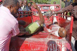 Más de 90 muertos y decenas de heridos al explotar un coche bomba en Somalia