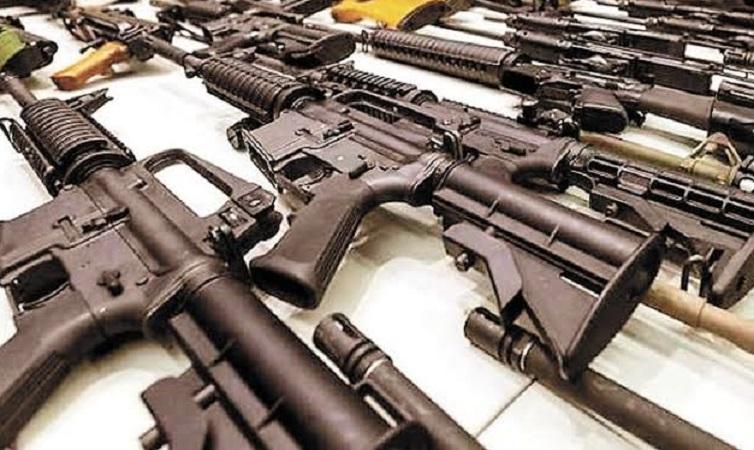 Inicia operativo contra el tráfico ilegal de armas entre México y EU