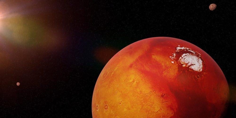 Una bacteria podría ayudar a la humanidad a colonizar Marte