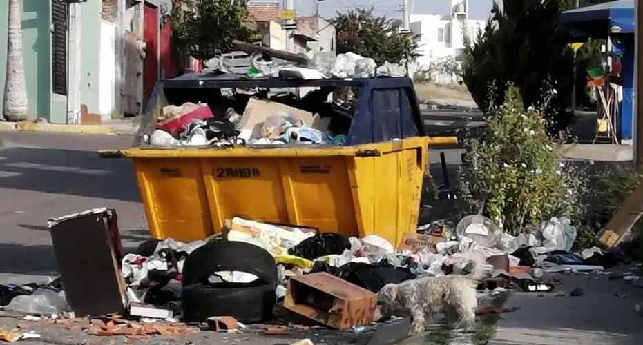 Denuncian inexistente servicio de limpia en tres colonias de Aguascalientes