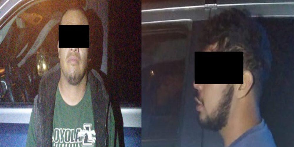 Detienen en Calvillo a tres sujetos con un kilo de marihuana