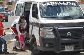 Detectan unidades de colectivo foráneo realizando transporte de personal