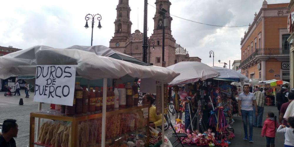 De 15 a 20 solicitudes diarias para comercio informal llegan al Municipio de Aguascalientes