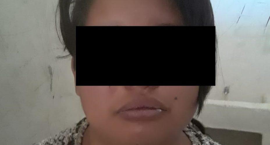María golpeó a una joven embarazada en Cosío, la detuvieron
