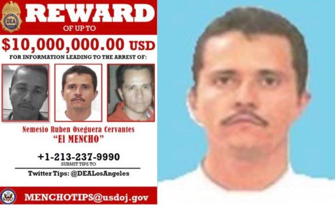 """""""El Mencho"""" podría convertirse en el capo más poderoso del mundo: DEA"""