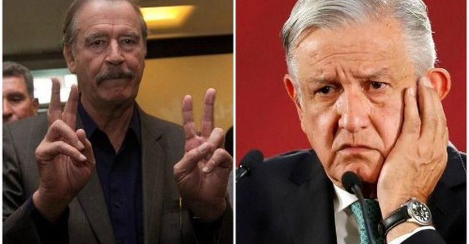 Vicente Fox felicita a AMLO por ratificación del T-MEC