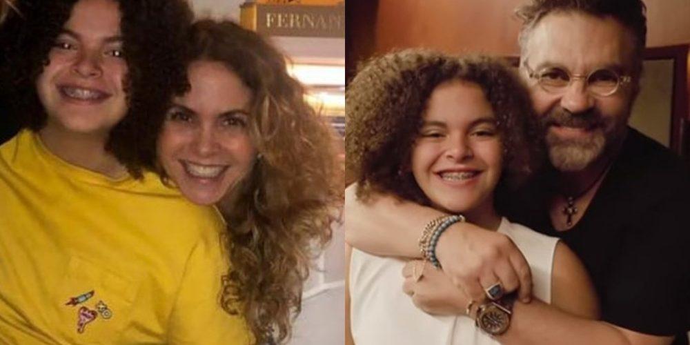 Critican a la hija de Lucero por ser una porrista en su escuela