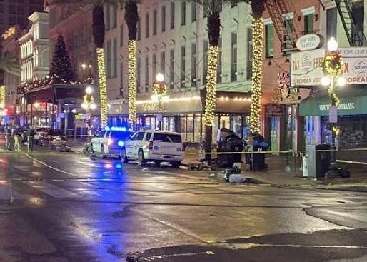 10 lesionados en tiroteo en Nueva Orleans