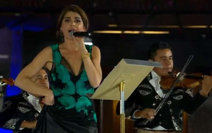 """El día en que Itatí Cantoral hizo el 'oso' tras cantar """"La Guadalupana"""""""