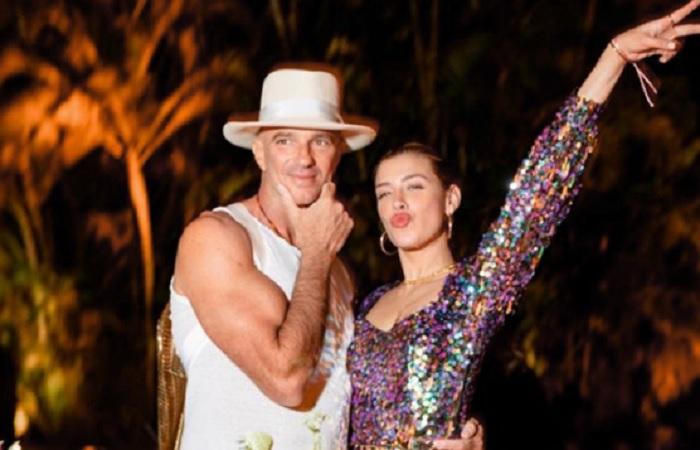 Michelle Salas tiene un novio multimillonario de 56 años de edad