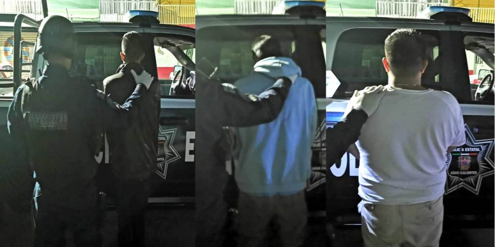 Golpe al narco: detienen a cuatro con 1 kilo de crystal y armas en Aguascalientes