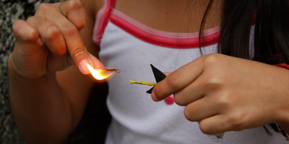 Denuncian venta de pirotecnia a menores en  Jesús Terán, Aguascalientes