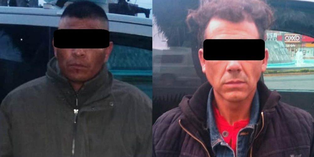 Detienen a dos que robaban una tienda de abarrotes en Aguascalientes