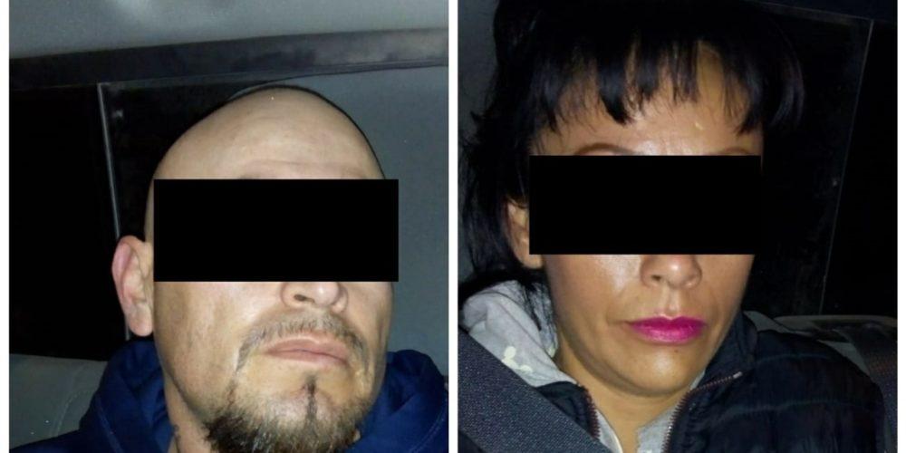 Pareja en posesión de droga fue detenida en Aguascalientes