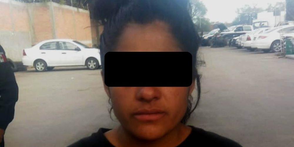 Tras ser acusada de lesiones por su familiar, mujer fue  detenida en Aguascalientes