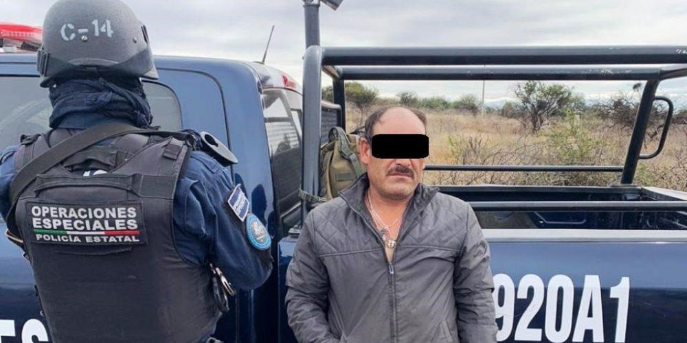 Atrapan a Israel con droga en Aguascalientes