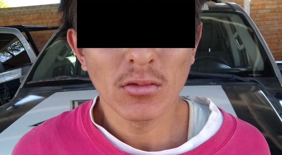 Joven fue detenido con marihuana en greña y 9 cigarros en Aguascalientes