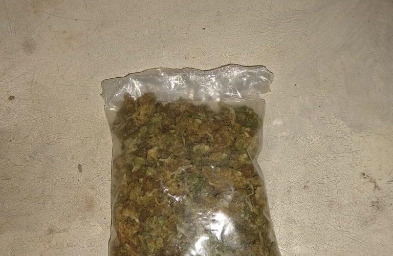 Caen tres con marihuana en Aguascalientes