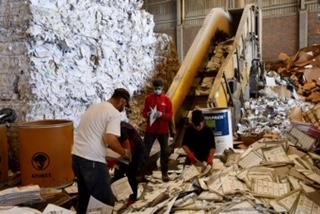 Realiza IEE destrucción de material y documentación electoral