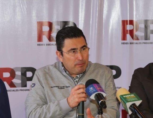 Reunirnos con Ávila no lo convierte  ya en candidato de RSP, dice dirigente