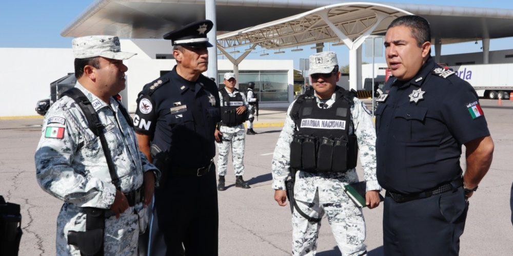 Entregan instalaciones a la Guardia Nacional en la puerta de acceso norte