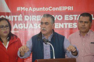 De un momento a otro habría relevo en la dirigencia del PRI en Aguascalientes