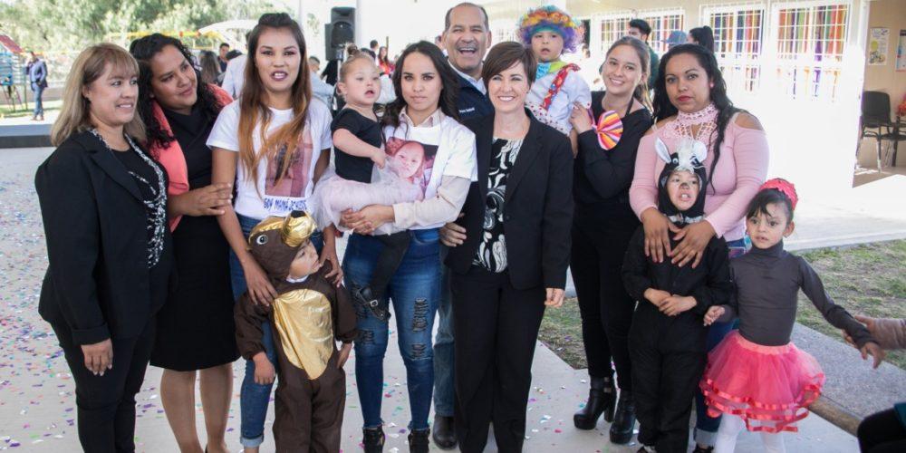 Inaugura MOS  las nuevas instalaciones del Centro de Atención Múltiple 18 en el Municipio de El Llano