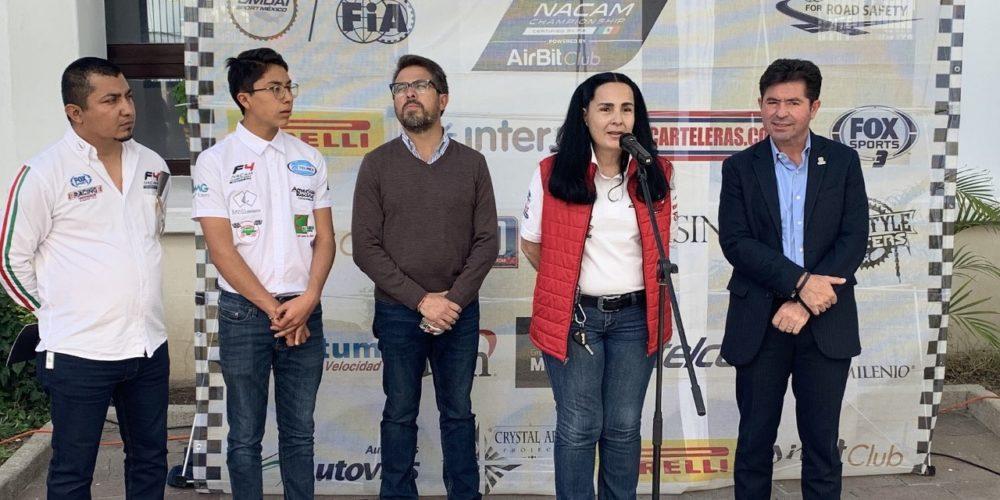 Anuncian la 2a fecha del Campeonato NACAM en el Óvalo Aguascalientes