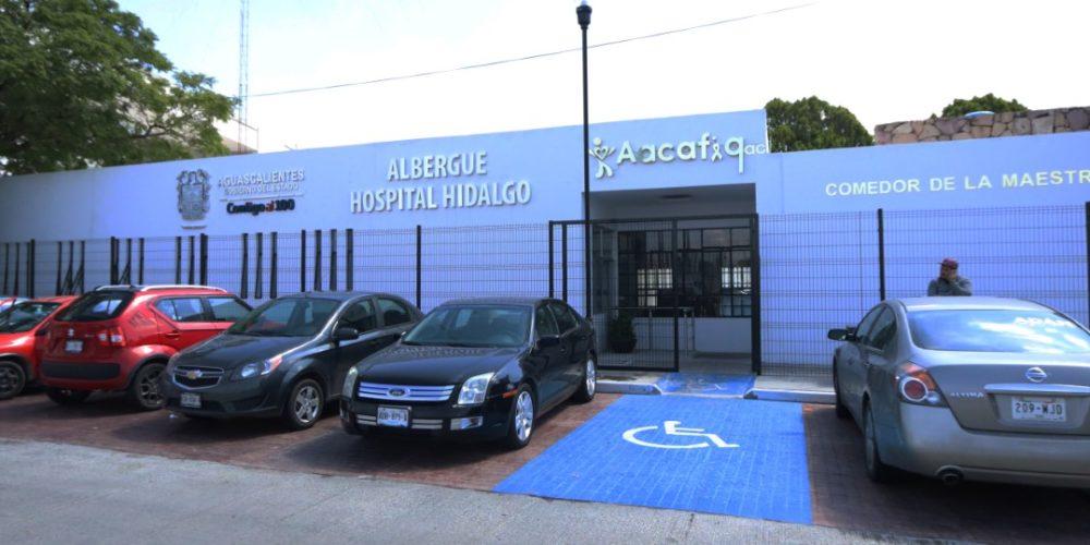 Albergue del Hospital Hidalgo ofrece servicio los 365 días del año a familiares de pacientes