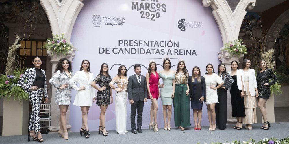 10 candidatas buscan ser la reina de la FNSM 2020