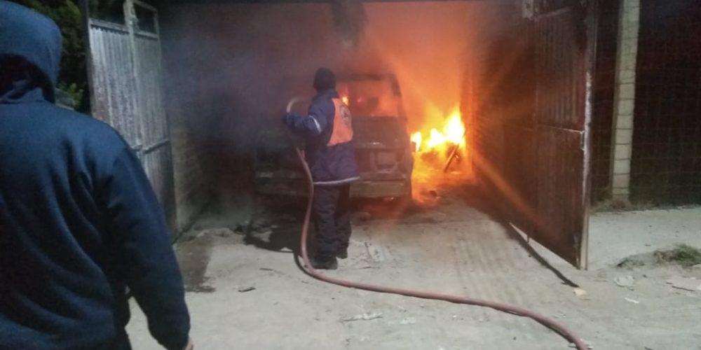 Se incendia casa en Cosío, Aguascalientes