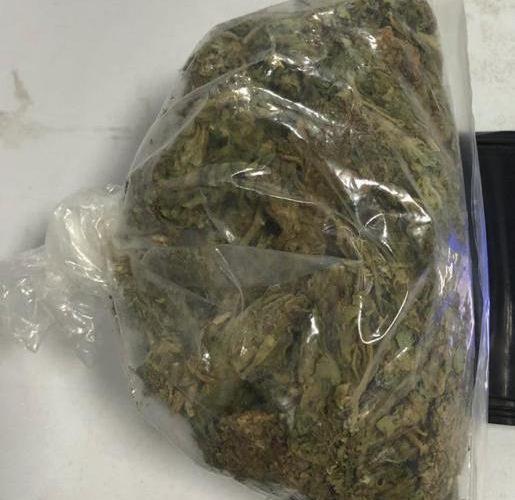 Cae sujeto con marihuana en su poder