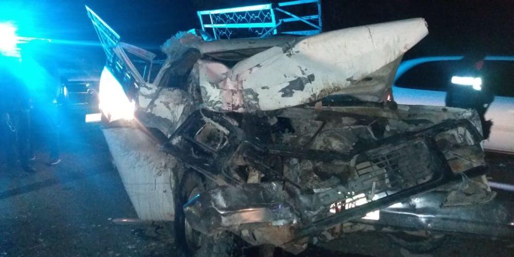 Saldo de dos lesionados deja aparatoso accidente en Calvillo, Aguascalientes