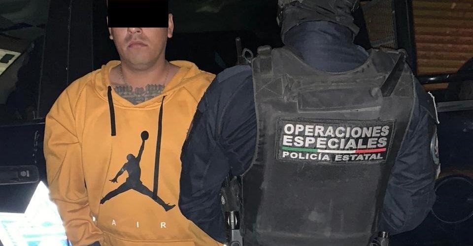 Detienen a distribuidor de drogas en Aguascalientes