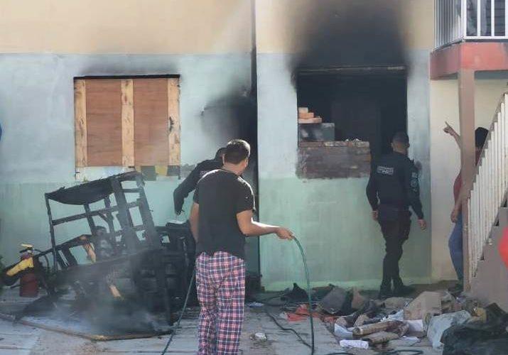 Se registra incendio en VNSA