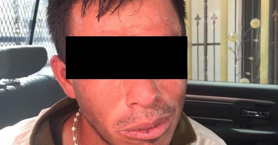 """Fue detenido sujeto conocido como """"El Perrillo"""" con marihuana"""
