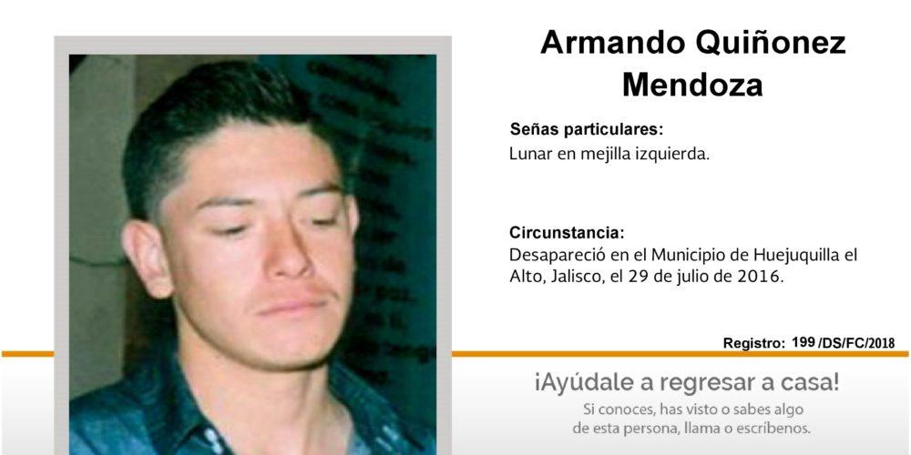 Buscan en Aguascalientes a Armando, desapareció en Jalisco