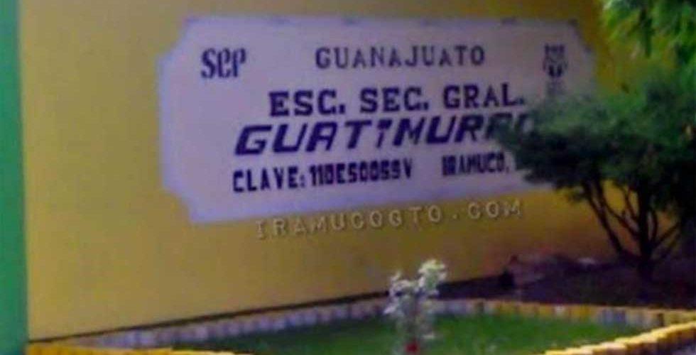 Niño dispara y lastima un compañero en secundaria de Guanajuato