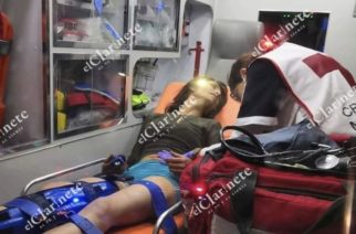 4 baleados, 2 detenidos, dejó ataque de mujer que robó rifle a policías en Aguascalientes