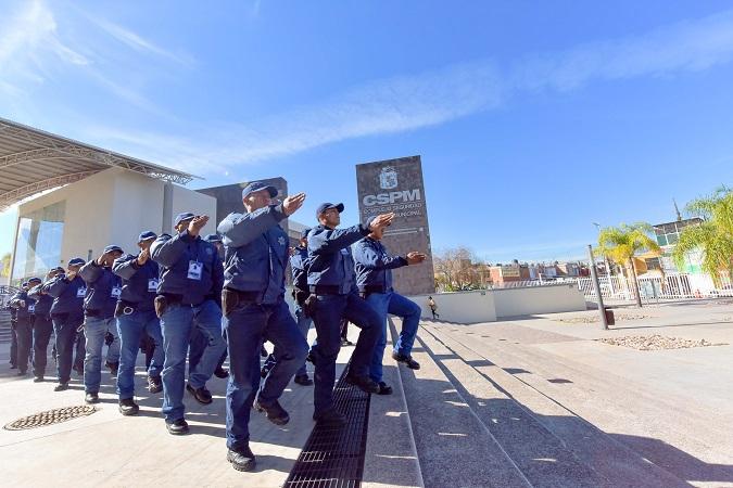 Evalúan permanencia de policías municipales de Aguascalientes