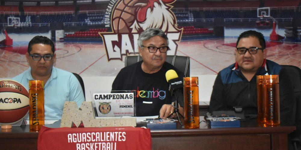 Gallos Aguascalientes trabajará de la mano con las ligas estatales de básquetbol