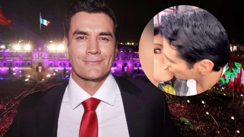 (Video) David Zepeda besa a conductora ¡casada!