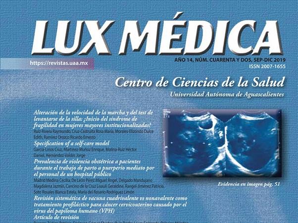 Cumple revista Lux Médica de la UAA 15 años en circulación