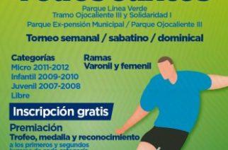 """Municipio de Aguascalientes invita a participar en la copa de futbol """"Todos Juntos"""""""